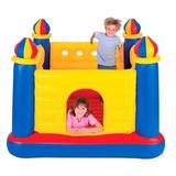 Brincolin Inflable Infantil Intex Castillo 4 Torres