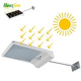 Lampara Solar Exterior Con Sensor De Movimiento