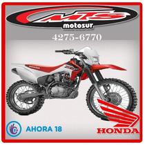 Honda Crf 150f 2017 0km Enduro Nueva Moto Sur