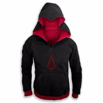 Sudadera Tipo Assassin White Dark Envío Gratis !!! Creed