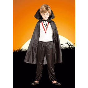 Disfraz De Dracula Infantil Halloween Talle 4