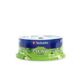 Disco Compacto Verbatim Cd-rw Verbatim 80m 12x 700mb Torr /r