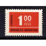 Argentina 1976 Mt 1041 Mint ( E 301) Imperdible Vea
