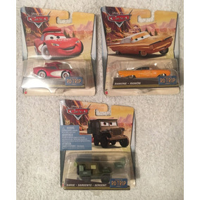 Disney Pixar Cars Coleccion 3 Autos Ruta 66 Road Trip