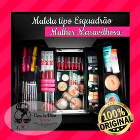 Maleta Produtos Maybelline - 100% Original - Viva La Diva