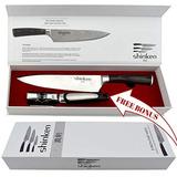 Shinken Professional Japonés Cuchillo De Chef, 8inch Hoja