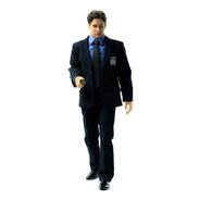 The X-files Agent Mulder Figura 1/6 Threezero - Robot Negro