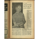 Rojinegro 210 Revista Evita Eva Peron Peronismo Sept 1953
