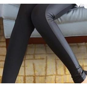 Montaria Calça Legging - Cós Alto- Couro Lateral + Frete