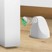 Trava Porta Magnético Comfort Door Imã Adesivo 3m Branco
