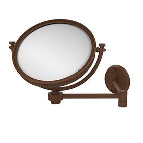 Allied Brass Wm-6/5x-abr 8-inch Wall Mirror With 5x Magnific