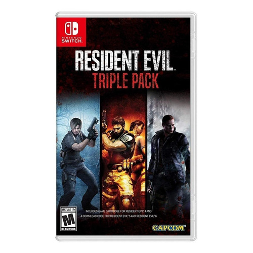 Resident Evil Triple Pack Nintendo Switch  Físico