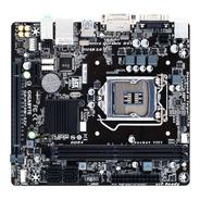 Placa-mãe Gigabyte Ga-h110m-s2v, Intel 6a. E 7a. Matx, Ddr4