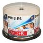 Philips Dvd R 8,5 G Inkjet Dual, Capa, La Caja De Torta, 50