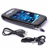 Mp3 + Video Player 4gb Lcd 2.8 Touch Cam. 1.3mp Microsd