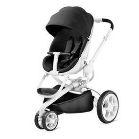 Quinny Coche Mood Asiento Rebatible Black Irony / Red / Blue