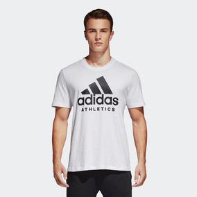 deb4bc2ef7f96 Camiseta adidas Sid Branded Masculina Bk3715 - G - Branco