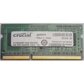 Memoria Ram Ddr3 Pc3 Mini Laptop 2gb 3meses Garantia