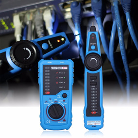 Detector Buscador Del Cable De Ethernet Lan Red, Tester Rj45
