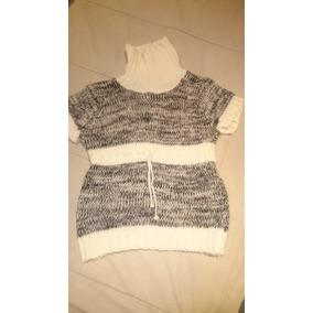 Sweater Chaleco Polera De Lana