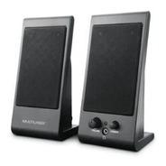 Caixa De Som Multilaser Flat 3w Rms Sp009 Para Notebook E Pc