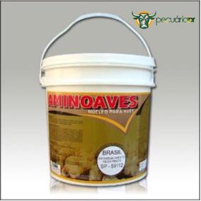 Aminoaves 5kg - Nucleo Para Misturar Na Ração - Frete Grátis