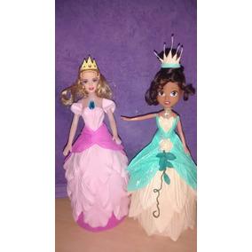 Muñecas Con Vestido De Goma Eva