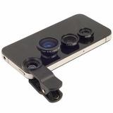 Kit Lente Olho De Peixe Smartphone Celular Camera Digital