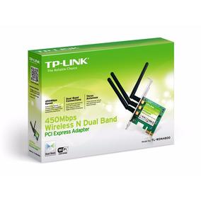 Tarjeta De Red Tp-link Pci-e Banda Dual N 450mbps Tl-wdn4800