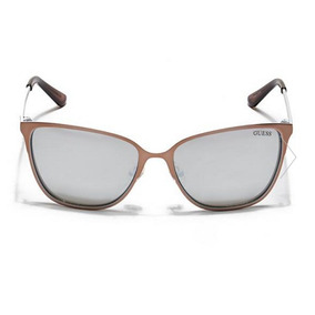 Lentes Guess Original Cat Eyes Rose Gold + Case Guess Gratis