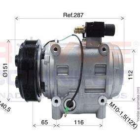 Compressor Ar Condicionado Onibus Tm31 Polia 8pk 24 Volts
