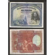 Billete Del Banco De España De 1000 Pesetas