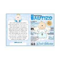 Tarjeta Invitación Infantil Revista Bautizo Peq Fotografico