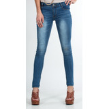Jeans (pitillo) Blue Focus Skinny Jeans Mujer 110w