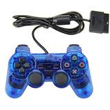 Controlador Con Cable Doble Choque Para Playstation 2 Ps2 A