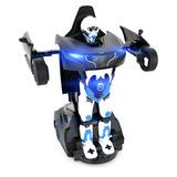 Juguetes Transformer Robot Auto Control Remoto Recargable Tm