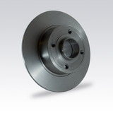Kit X2 Discos De Freno Traseros Renault Megane Ii 2.0 16v