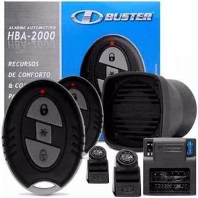 Alarme Automotivo H-buster Hba 2000 C/2 Controles Novo