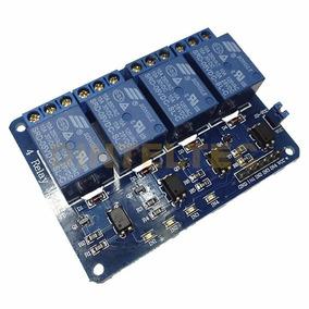 Modulo De 4 Relevadores Relay 12v Arduino