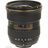 Lente Tokina 11-16mm F/2.8 At-x Pro Dx Ll (af-s)