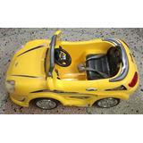 Carro Montable Electrico Control Remoto/luces/recargable