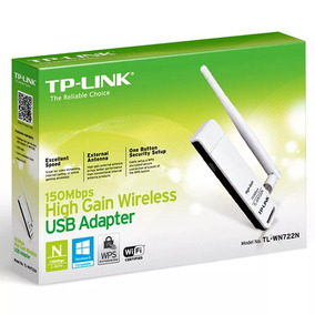 Adaptador Usb Wireless Tp-link Tl-wn722n 150mbps C/ Antena