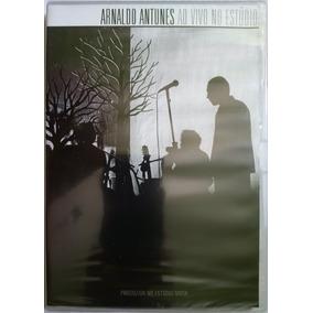 Dvd Arnaldo Antunes Ao Vivo No Estúdio (original E Lacrado)
