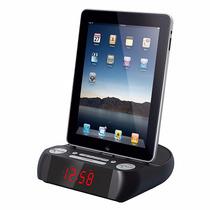 Radio Reloj Despertador Mlab Ipad Iphone Ipod / Tecnofactory