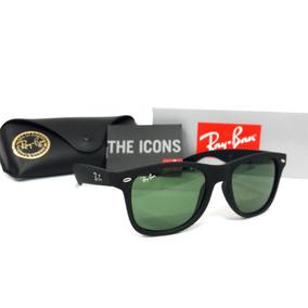 395864da223b9 Oculos Rayban Masculino Wayfarer Preto Escuro - Óculos no Mercado ...