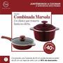 Oferta Set 20cm Olla+sarten Essen C/antiad.espatulas+recetas