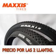 2 Llantas Maxxis Ikon 29*2.20- Bicicleta Mtb
