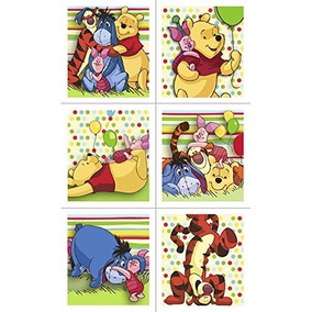 Pegatinas De Winnie The Pooh - 4 Hojas