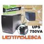 Ups Explorer 750va / 450w Regulador De Voltaje 4 Tomas Nuevo