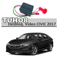 Desboqueio Dvd Interface De Tela Multimidia Honda Civic 2017